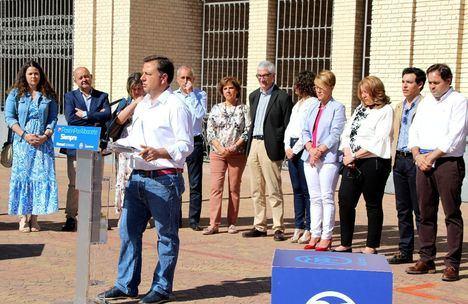 """Manuel Serrano presenta un programa electoral con 150 medidas que es """"un contrato serio con la ciudad de Albacete y con los albaceteños"""""""