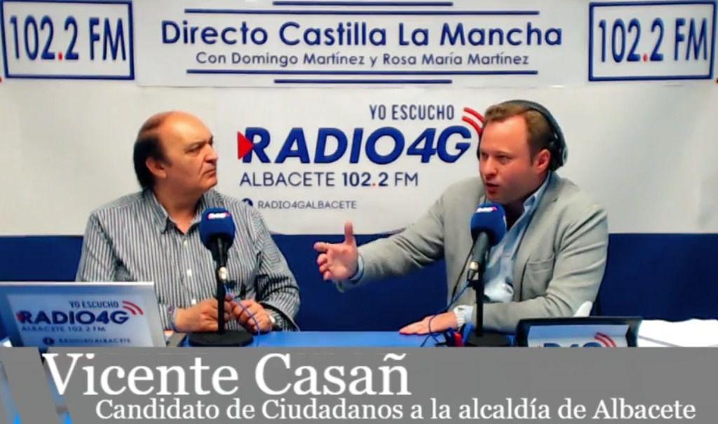 """Vicente Casañ """"La mejor manera de crear riqueza en Albacete es apoyar a los autónomos y los emprendedores que son los que la generan"""""""