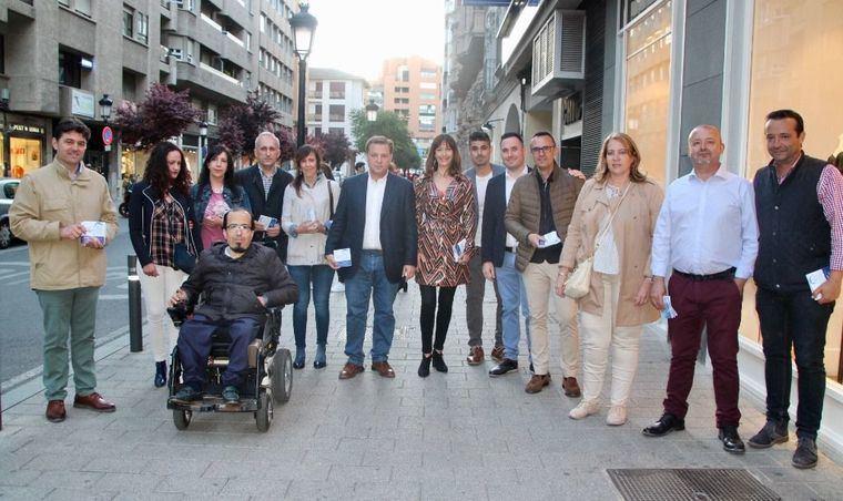 Manuel Serrano se compromete a seguir avanzando en el Plan de Peatonalización de las calles del centro de Albacete