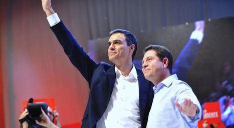 Pedro Sánchez interviene este domingo en Albacete en un acto electoral junto a Emiliano García-Page