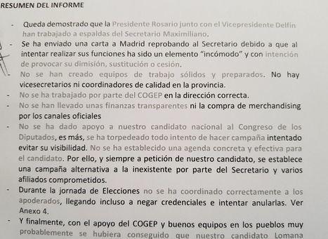 Monumental escándalo en VOX Albacete con graves acusaciones a la presidenta y vicepresidente, Rosario Velasco y Delfín Córcoles