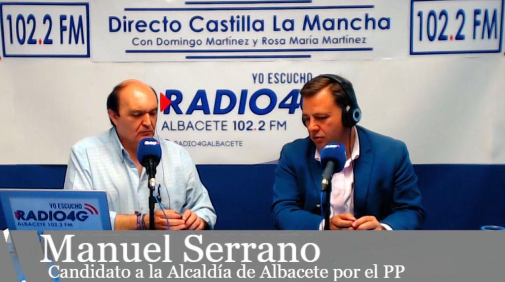 Manuel Serrano promoverá el uso de solares vacíos en la ciudad, tanto municipales como de particulares, para posibilitar entre 10 y 15 nuevos parkings gratuitos en Albacete