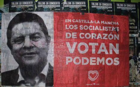 Nacho Hernando dice que la polémica con Podemos por los carteles no impide acuerdos