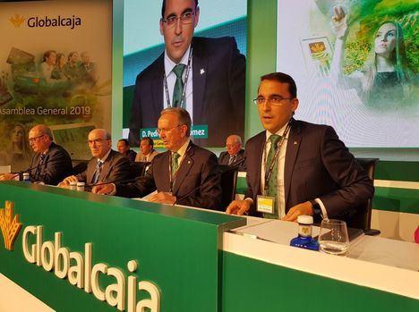 El director general, Pedro Palacios, destaca que Globalcaja, ha aportado a la sociedad más de 30 millones de euros en ayudas