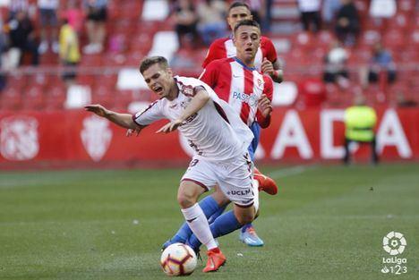 0-2. El Albacete gana en un partido comodo en Gijón y se asegura jugar los playoff de ascenso