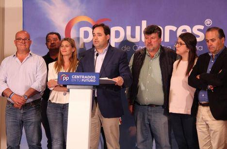 Paco Núñez felicita a Page y achaca los malos resultados del PP a la