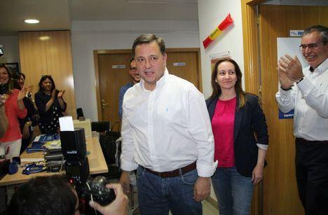 """Manuel Serrano afirma sentirse el """"ganador moral"""" de las Elecciones Municipales en la ciudad de Albacete"""