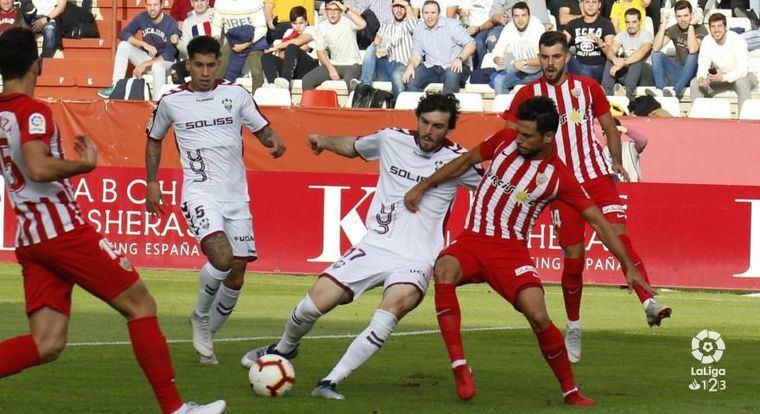 El Albacete viaja a Almería a apurar sus opciones de lograr la tercera plaza