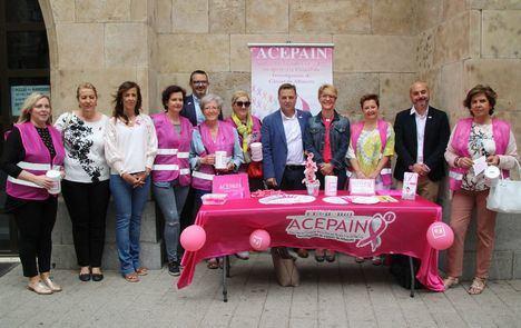 Los albaceteños participan en la cuestación de ACEPAIN para sumar esfuerzos en la lucha contra el cáncer