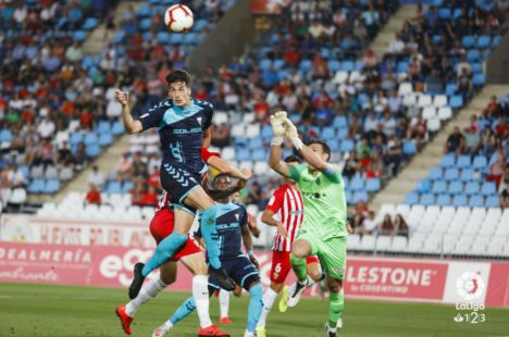 3-0. El Albacete sale goleado de Almería dejando una pésima imagen