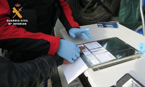 La Guardia Civil detiene al autor de dos robos con intimidación en establecimientos públicos de La Roda