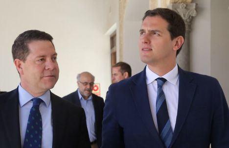 Ciudadanos y PSOE se repartirán mandato en Ciudad Real y Albacete y Guadalajara será socialista con apoyo de los de Rivera
