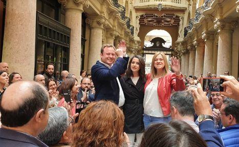 Vicente Casañ (Ciudadanos) será alcalde de Albacete de 2019 a 2021 y los dos años siguientes cederá el bastón al socialista Emilio Sáez