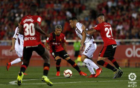 2-0. El Mallorca asesta el primer golpe al Albacete en los playoff