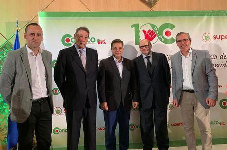 Manuel Serrano felicita a la empresa albaceteña CONACO por su 100 aniversario