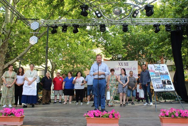 El Alcalde de Albacete y la concejal de Barrios visitan las fiestas de San Pablo