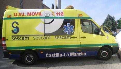 Ingresado en el Hospital el trabajador herido al caerse de una altura de 5 metros en Albacete