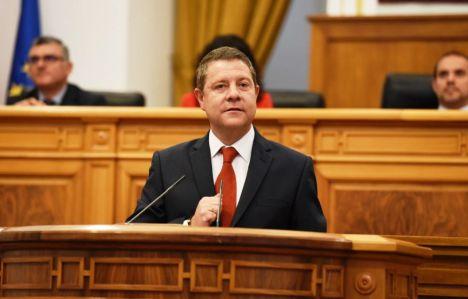 García-Page se plantea la creación de otros 100.000 nuevos empleos en la presente legislatura