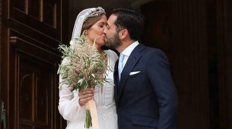 Dámaso González y Miriam Lanza: boda torera en la Catedral de Albacete