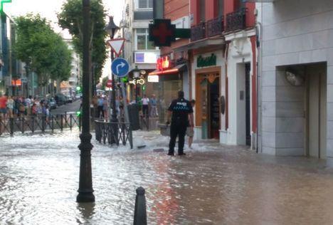 Protección Civil alerta del riesgo de fuertes tormentas en Castilla-La Mancha