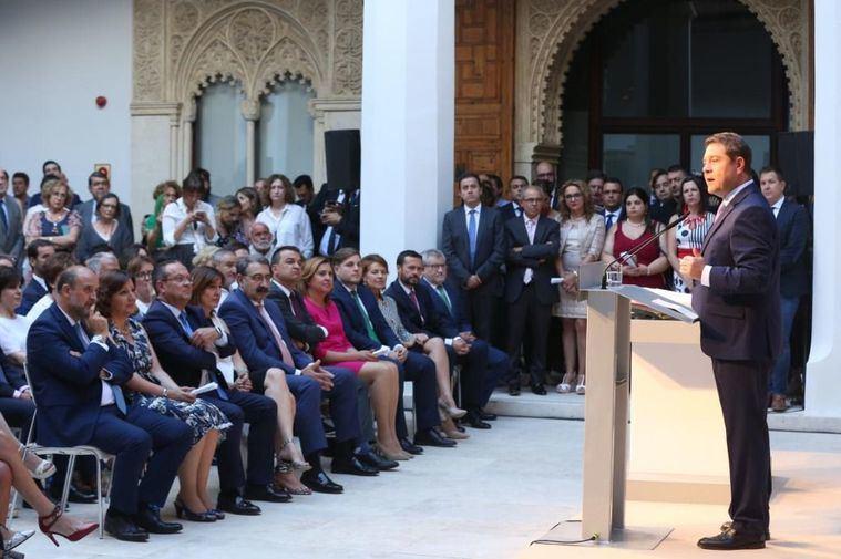 El presidente de Castilla-La Mancha, Emiliano García-Page, ha pedido a su nuevo Consejo de Gobierno que prime la 'cercanía' con el ciudadano de a pie