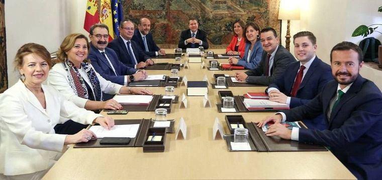 """García-Page y el Gobierno de Castilla-La Mancha iniciará """"de forma inminente"""" la elaboración del Presupuesto 2020"""