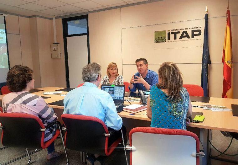 El ITAP, primer Organismo Autónomo visitado por Cabañero en este nuevo mandato al frente de la Diputación de Albacete