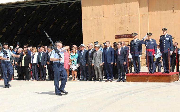 Vicente Casañ: 'Nuestra Base Aérea y el Ala 14 son motivos de gran orgullo para los albaceteños'