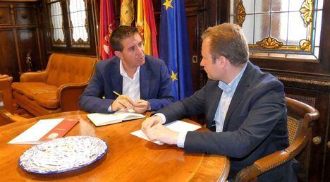 Santi Cabañero y Vicente Casañ mantienen su primera reunión oficial con varios objetivos comunes para el progreso de Albacete sobre la mesa
