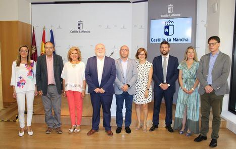 Presentación de las delegadas y los delegados provinciales de la Junta de Comunidades en Albacete para la X Legislatura autonómica