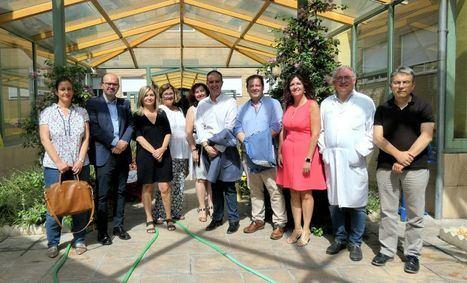 El presidente de la Diputación y el diputado de Sanidad visitan la UME y la Residencia de Mayores San Vicente de Paúl