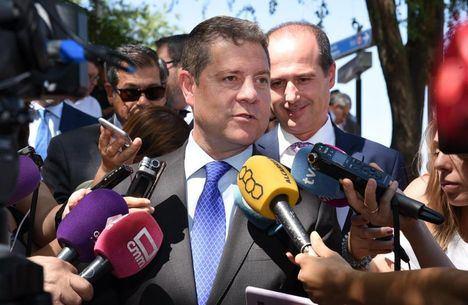 El presidente García-Page anuncia que el techo de gasto para Castilla-La Mancha quedará aprobado este mes