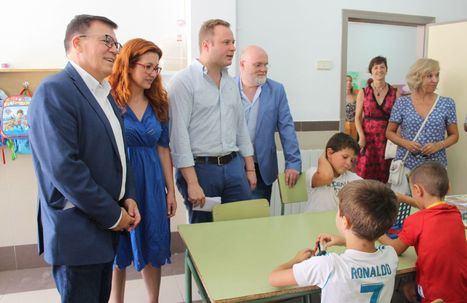 Las diez Escuelas de Verano de la capital mantienen operativo su comedor escolar también en verano