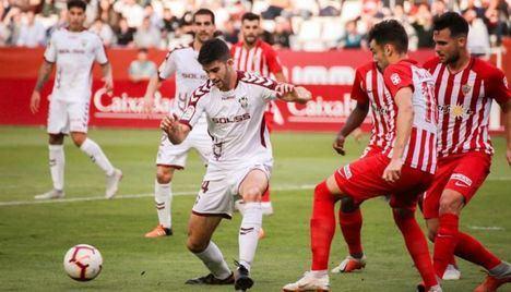 3-0. El Albacete 'no estuvo' en Almería que debutó con goles y buenas sensaciones
