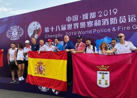 Magníficos resultados de la delegación albaceteña que consigue siete medallas en los Juegos Mundiales de Policías y Bomberos