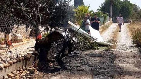 Siete muertos, dos menores, tras chocar en el aire un helicóptero y una avioneta en Mallorca