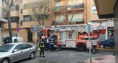 Un camión de bomberos atropella a una mujer de 82 años en un paso de peatones de Albacete