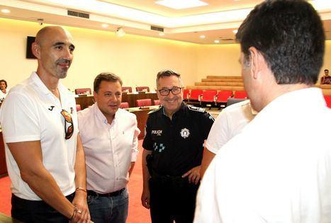 Manuel Serrano felicita a la delegación albaceteña de la Policía Local por las 7 medallas conseguidas en los Juegos Mundiales de Policías y Bomberos