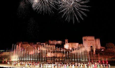 Puy du Fou inaugura el espectáculo nocturno 'El Sueño de Toledo'