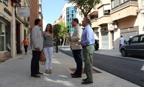 La calle Blasco Ibáñez luce su remodelación para esta Feria