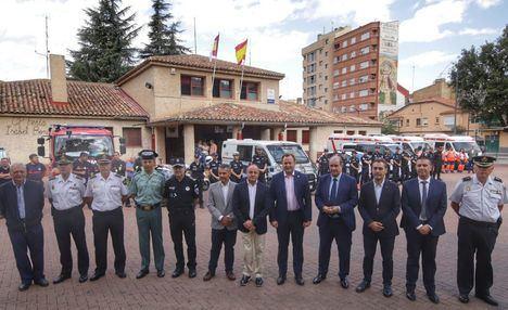 El delegado del Gobierno destaca la colaboración institucional para lograr disfrutar de una Feria segura