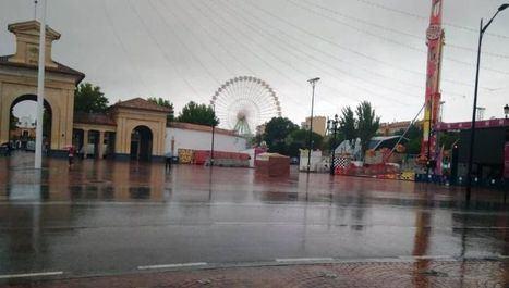 La lluvia obliga a suspender y trasladar algunos actos de la programación de Feria de Albacete