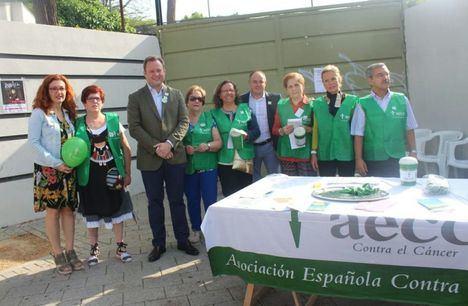 Vicente Casañ anima a los albaceteños a participar en la cuestación de la Asociación Española Contra el Cáncer