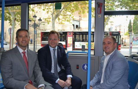 Una inversión de medio millón de euros, primera parada para mejorar y modernizar el Servicio de Transporte Urbano de Albacete