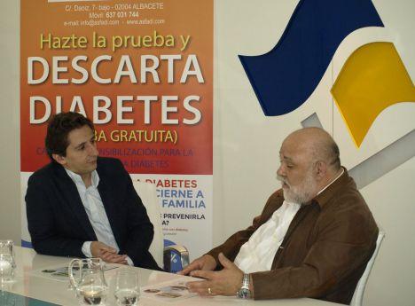 Aguas de Albacete ha renovado el convenio de colaboración con la asociación de familias diabéticas de Albacete