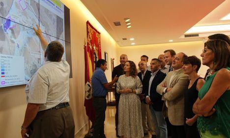 La Confederación Hidrográfica del Júcar presenta el estudio cartográfico que servirá para dar solución a las avenidas de agua en Albacete