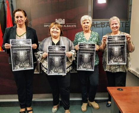 La V muestra internacional de Encajes 'Ciudad de Albacete' se celebrará este fin de semana con el apoyo de la Diputación