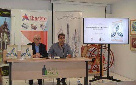 El Museo Municipal de la Cuchillería edita el libro 'Cuchillería de Escritorio de Albacete', de José Sánchez Ferrer