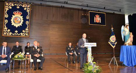 Emilio Sáez valora el esfuerzo de colaboración y coordinación de los cuerpos de la Policía Nacional y Local para hacer de Albacete una ciudad tranquila y segura