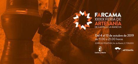 El presidente de Castilla-La Mancha asiste a la apertura de la XXXIX edición de la Feria Regional de Artesanía FARCAMA